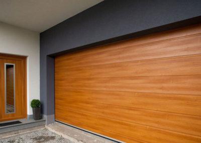 Garážová vrata od RZM stínící techniky